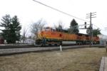 BNSF 4973 with Portland train
