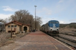 Southwest Chief at Lamy, NM