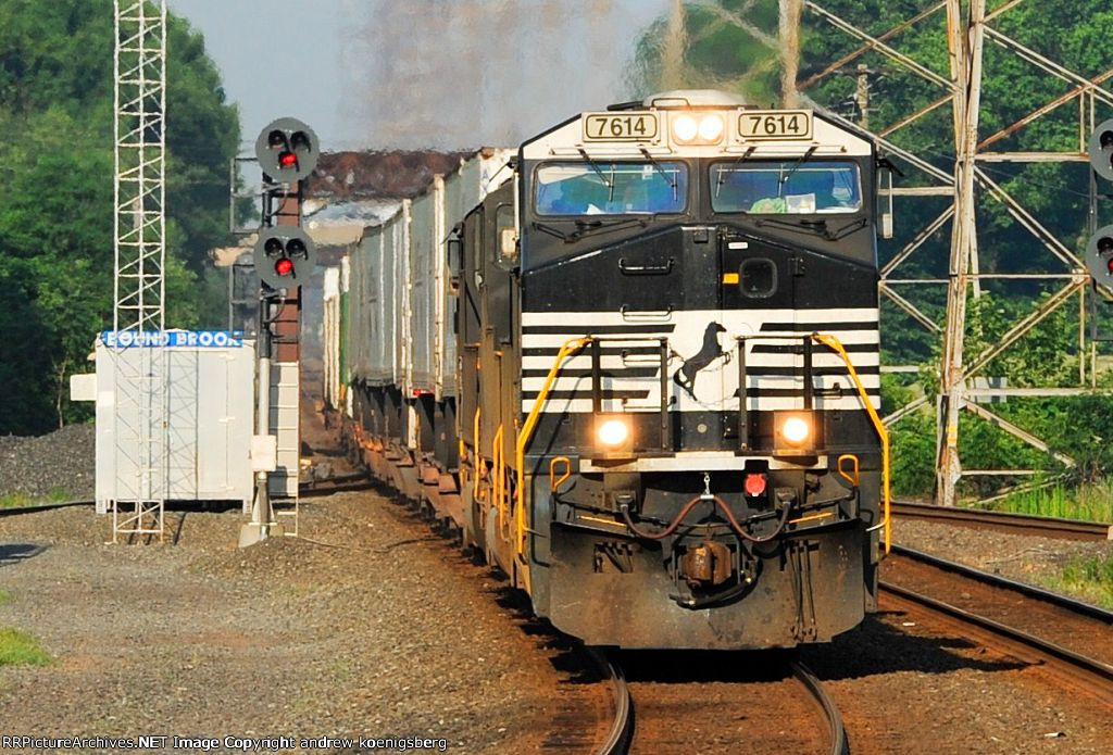 Norfolk Southern ES40DC 7614