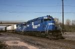 Conrail EMD SD-40-2's  6472 & 6515 whip TV-234 thru
