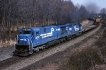 Conrail C-36-7 6622 leads the OIAL (Oak Island-Allentown)