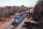 Conrail SD-50 6829 leads PYOI (Potomac yard-Oak Island) up the Trenton line