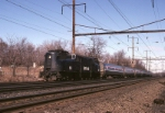 Amtrak GG-1 911 speeds south with a Philadelphia train