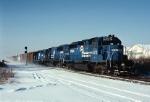 Dashing thru the snow is PIOI (Pitsburgh-Oak Island) led by Conrail EMD SD-40-2 6472