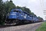 Conrail OIIN (Oak Island-Indianapolis) blasts along