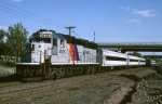 New Jersey Transit GP-40PH-2 4108 heads west with commuters along the old Erie-Lackawanna