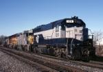 "Richmond, Fredricksburg & Potomac EMD GP-40 126 is heading lite to Kearny to pick up the ""Orange Blossom Special"""