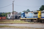 CSX 5940 with Etowah depot in background