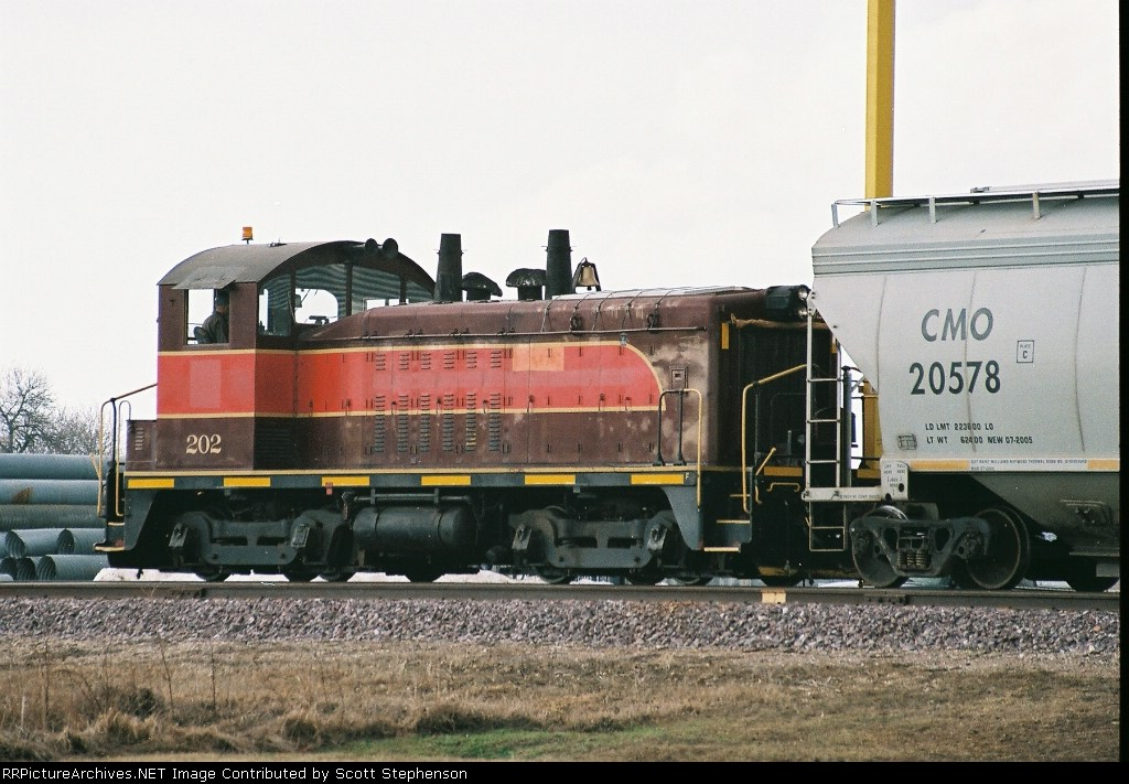 CCUO #202  (EMD SW7)