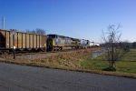 Empty Stilesboro coal train