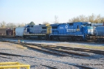 "CSX 5972 I think is one of the old Conrail ""Diversity"" engines"