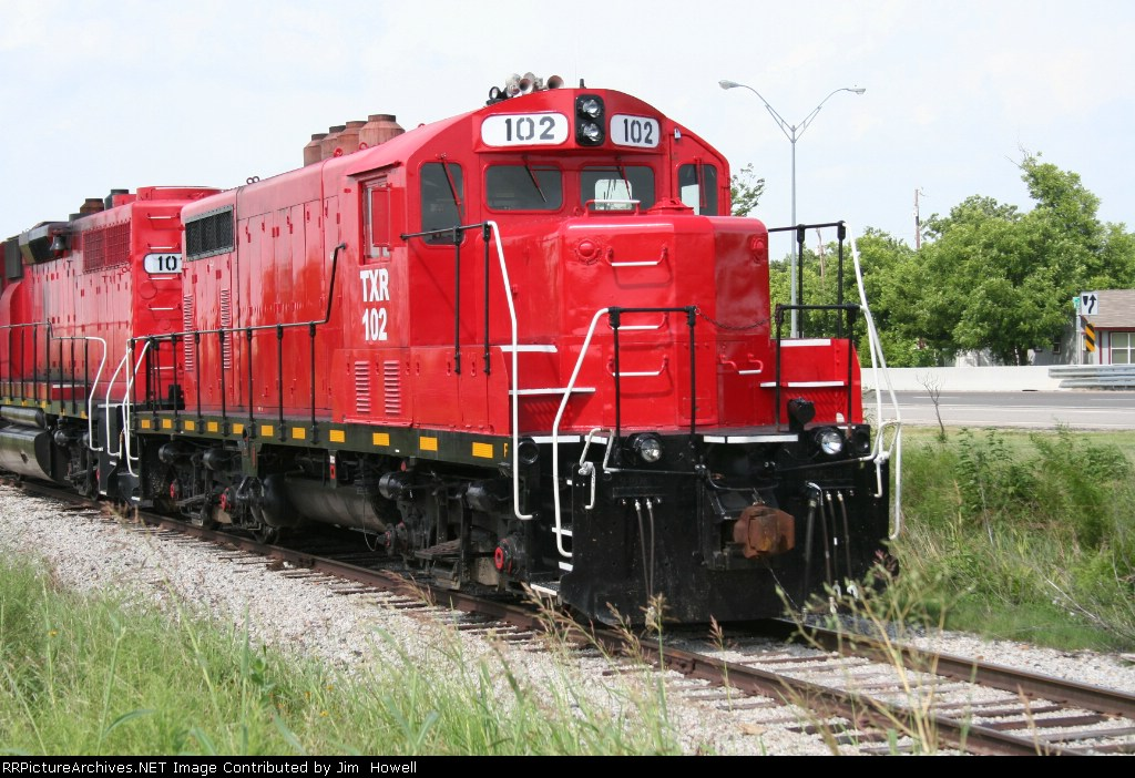 TXR 102 - July 2007 - Former Chicago North Western Unit - Original Engine Number Unknown