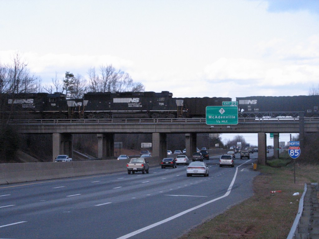 Feb 12, 2006 - And now here comes 214 over I-85