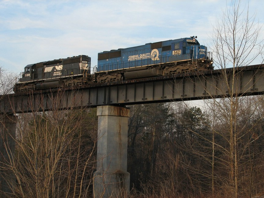 Mar 1, 2006 - NS 5421 and NS 3388 on PS22
