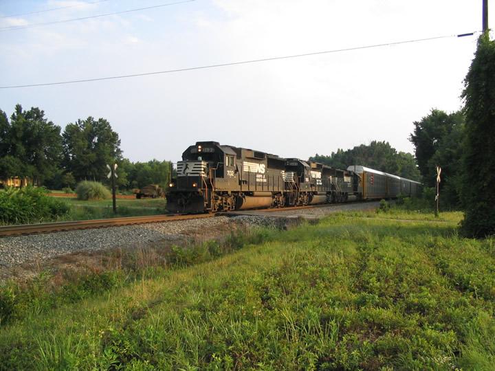 NS 204 nears Reid