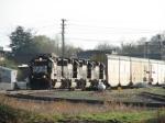Apr 1, 2006 - NS 7100 leads NS train 212