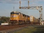 Apr 2, 2006 - UP 4373 leads train 213