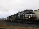 Train 119 crosses Waddell Rd