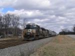 Feb 4, 2006 Train 213 tackles the single track