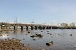 Amtrak over the Delaware River