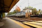 Amtrak 925 pushing the Westbound Keystone