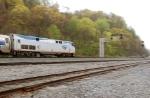 Amtrak 97 racing eastbound