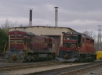 Big GE, small EMD