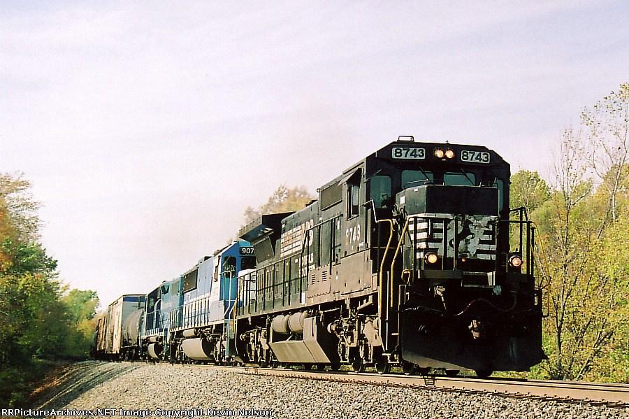 NS 8743 C40-8
