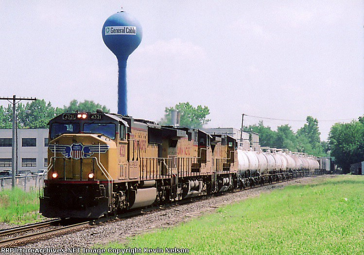 UP 4321 SD-70M