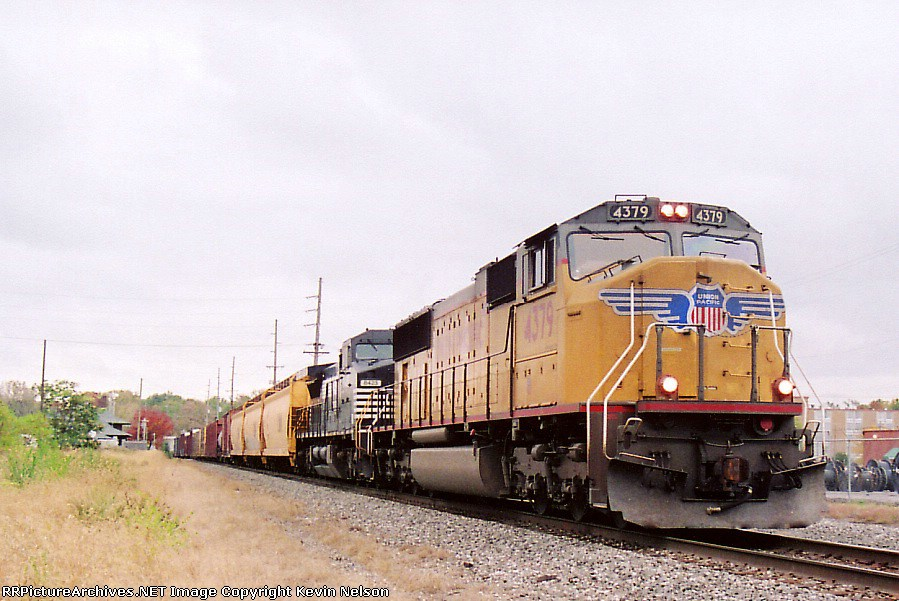 UP 4379 SD70M