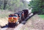 BNSF 4747 CW44-9