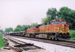 BNSF 5455 CW44-9