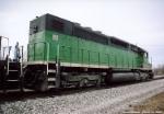 BNSF SDP-40
