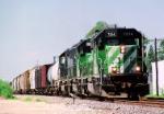 BNSF 7014 SD-40-2