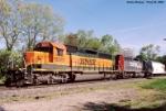 BNSF 8001 SD-40-2