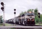 BNSF 9670 SD-70MAC
