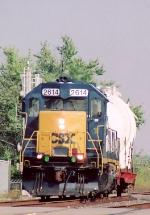 CSX 2614 GP-38-2