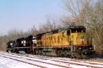UP 9175 C40-8