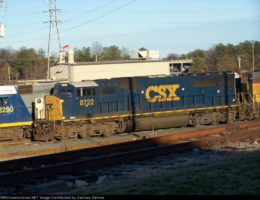 CSX 8722