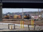 Trains lined up at Acca