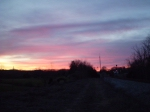 Sunset on the CSX