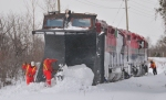 First GEXR plow extra of the 2008-09 season