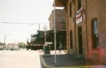 NS Dash 9 crossing Monroe Street