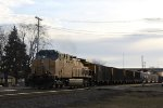 UP 7293 does DPU duty on this eastbound WPS coal train