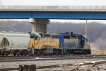 Illinois Railway Unimin Job power hides out in the yard