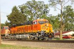This could well be BNSF 8229's first revenue run