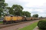 UP 6466 is DPU on the coal train