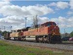 BNSF 9200 with EB coal loads