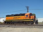 Local power BNSF 2016 sits for the weekend