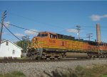 BNSF 5350 leads a quartet of GEs on a WB intermodal
